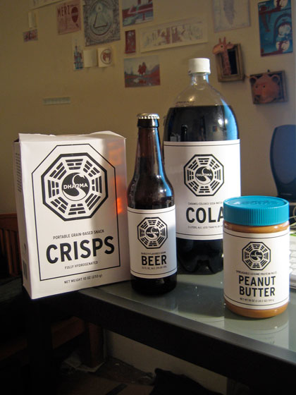 Dharma initiative labels